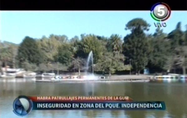 La GUM hará patrullajes para reforzar la seguridad en el Parque Independencia