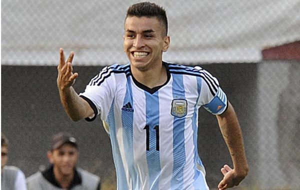 El rosarino Correa juega en Atlético de Madrid.