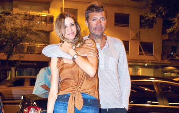 Marcelo y Guillermina tuvieron anoche su reencuentro.