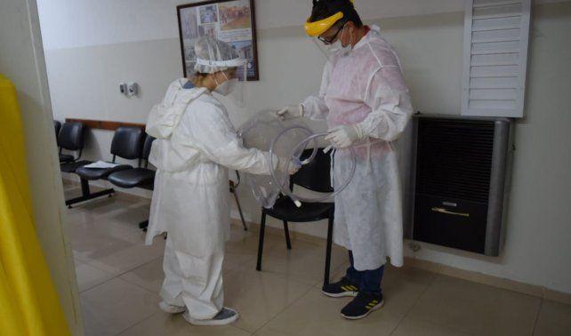 Arteaga: el Hospital Samco ya aplica ibuprofeno inhalado a pacientes con Covid-19