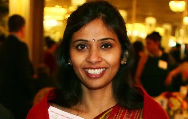 Polémica. Khobragade fue acusada de fraude en el visado de su niñera.