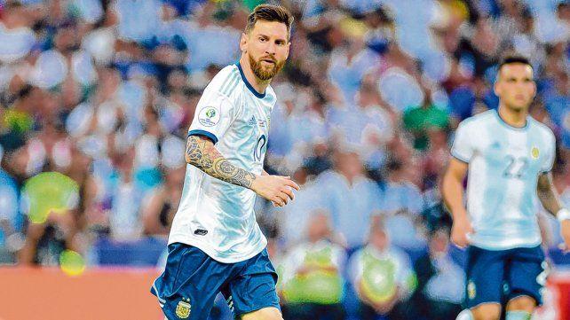 En Brasil 2019. El rosarino jugó por última vez ante Chile