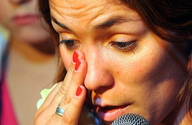 Soledad García se sintió muy herida por la exclusión del equipo y las declaraciones del entrenador.