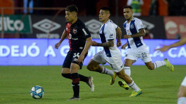 Sebastián Palacios tiene que volver a ser el delantero incisivo de sus primeros partidos en el club del Parque.