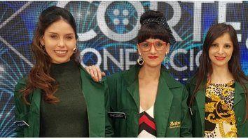 Eugenia junto a otras participantes del reality de Canal 13