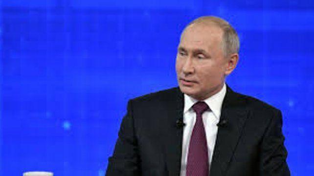 Putin admite en TV que Rusia sufre una caída del nivel de vida