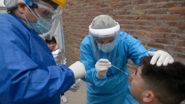 Hubo 5.469 contagios de coronavirus en el país y 66 nuevas muertes
