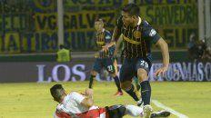 Partido especial. Teo ya jugó con la camiseta de Central ante River en la final por la Copa Argentina. Hoy lo hará en Núñez.