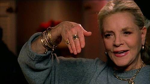 Lauren Bacall falleció hoy