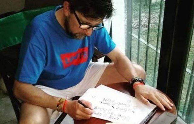 El hacedor. Miguel Lerotich es el responsable del proyecto.