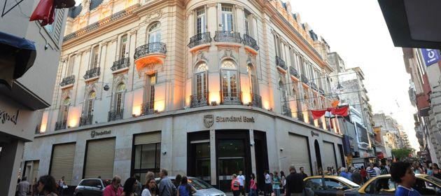 El banco de Mitre y Córdoba
