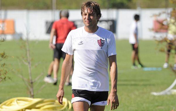 Caudillo. El Gringo Heinze ayer hizo fútbol y podría regresar al equipo.