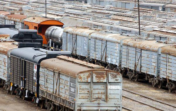 Los trenes de carga