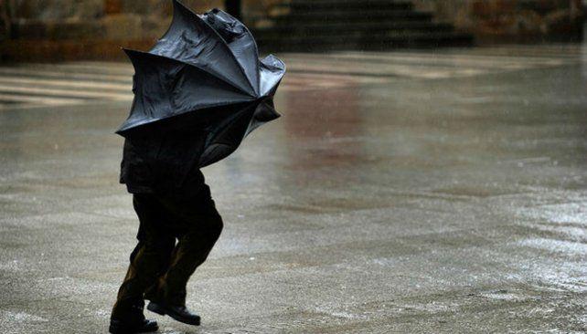 Alerta por fuertes vientos para centro y sur de Santa Fe