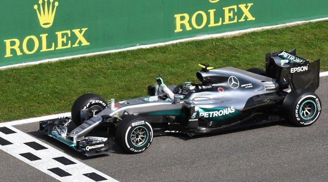El alemán Nico Rosberg se impuso en el Gran Premio de Bélgica de Fórmula 1