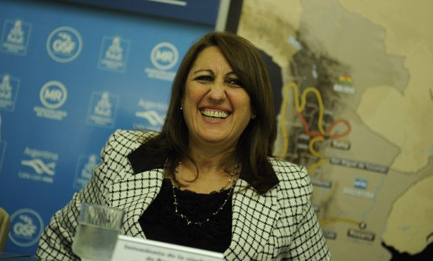 Mónica Fein se encontró en Buenos Aires primero con Abal Medina y luego con el subsecretario de Asuntos Hídricos
