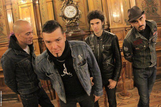Equipo. Fernando Ruiz Díaz (centro) junto a Sebastián Cáceres