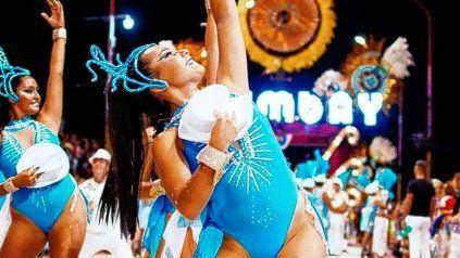 Clara Fumaneri, una exponente de la cultura del carnaval gualeyo