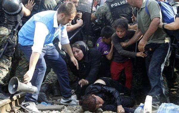 Drama. En la frontera greco-macedonia