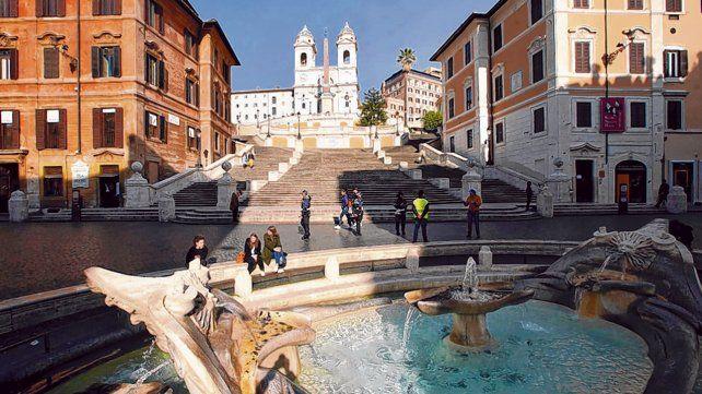 Roma. Una postal inusual de la Ciudad Eterna