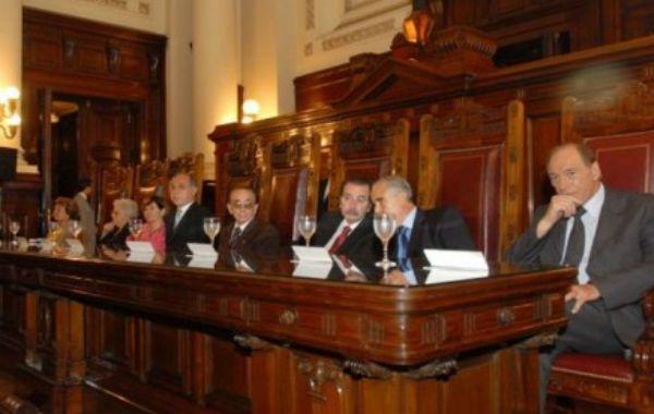 Los miembros de la corte suprema de la Nación.