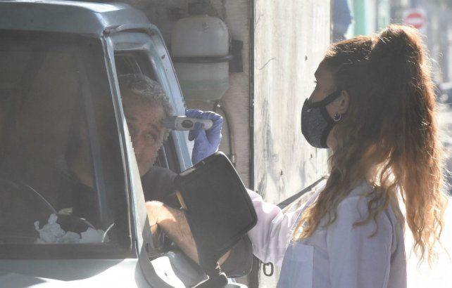 Rosario no tuvo casos positivos de coronavirus en el día de hoy.