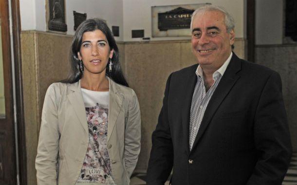 Los profesionales. Carolina Chacon y Rafael Díaz
