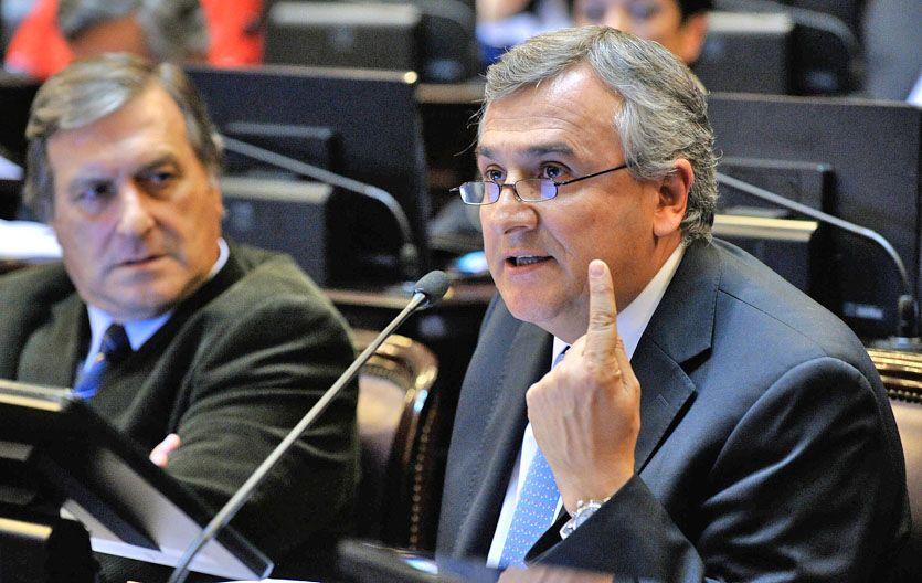 """Negativa. Morales: """"Con este gobierno no queremos ningún consenso""""."""