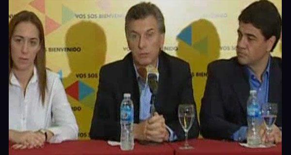 Macri dijo que Cristina ganó por méritos importantes de su gestión de gobierno