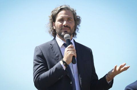 Santiago Cafiero quiere que las diferencias no se ventilen por los medios.