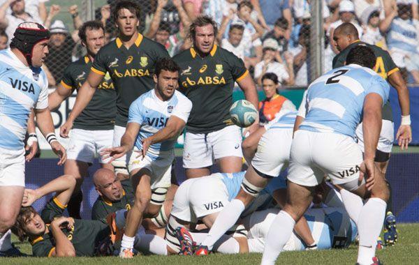 Los Pumas estuvieron a cuatro minutos de vencer por primera vez a Sudáfrica.