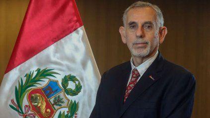 Pedro Francke, ya en su carácter de ministro de Economía y Finanzas. Fue resistido por Perú Libre.