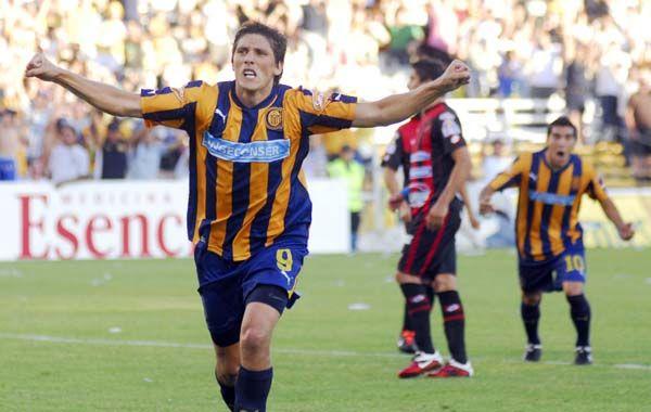 Castillejos marcó el último tanto canalla ante Quilmes
