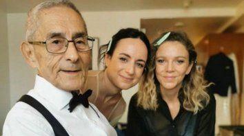 Sergio Chamy, la directora Maite Alberdi y la productora Marcela Santibáñez vestidos para emprender su camino a la alfombra roja de los Premios Oscar 2021.
