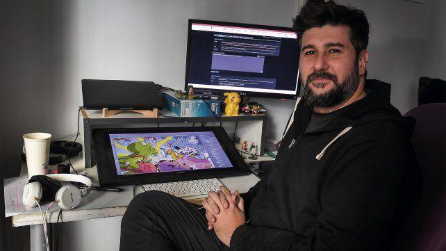 Pablo Cerrutti, fundador del estudio Purple Tree
