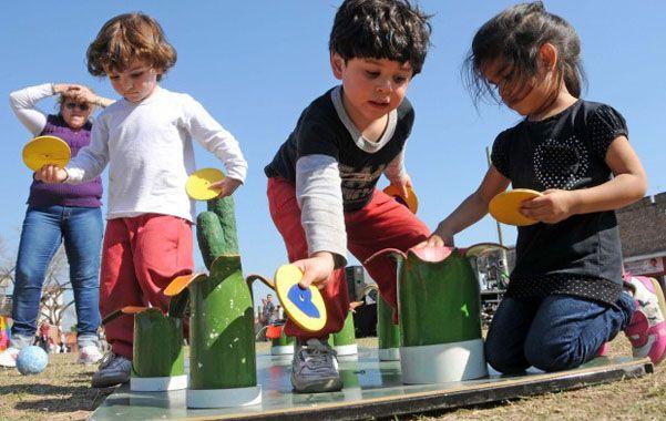 Pensado para ellos. Los niños serán los principales protagonistas de los actos que se llevarán adelante en la ciudad.