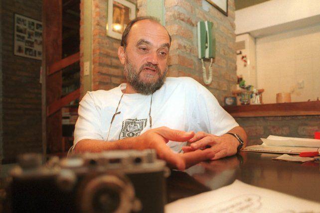 El querido e inolvidable Negro Roberto Fontanarrosa.