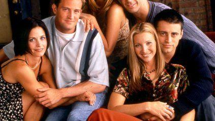 Terminaron el rodaje de la reunión de Friends