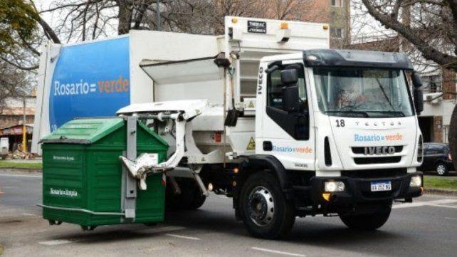 No habrá servicio de recolección de residuos durante toda la jornada del viernes 1°.