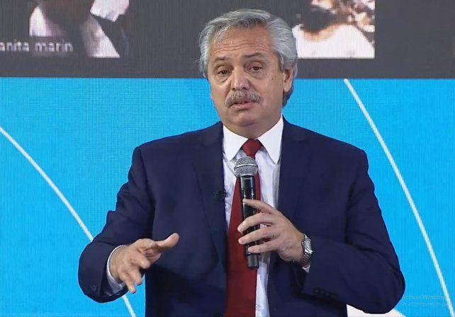 El presidente Alberto Fernández aseguró que en septiembre todos los argentinos estarán vacunados contra el coronavirus.