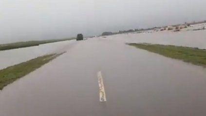 Localidades y rutas de la región siguen anegadas por el fuerte temporal de lluvia