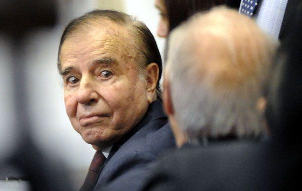 El ex presidente ya fue condenado por la venta ilegal de armas a Croacia y Ecuador.