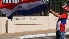 Por el mal manejo de la pandemia, en Paraguay piden la renuncia de Abdo Benítez