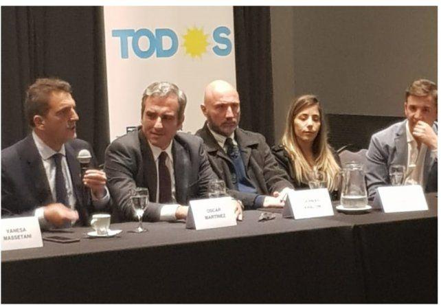 El diputado del Frente Renovador-PJ Oscar Cachi Martínez ratificó la decisión de su espacio de participar en las próximas elecciones nacionales en el marco del Frente de Todos.