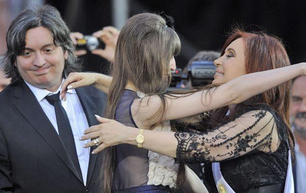 poder familiar. La escalada del juez contra Cristina también involucró a sus hijos Máximo y Florencia.