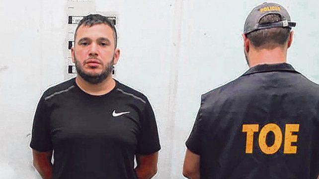 Esteban Alvarado está detenido desde febrero de 2019.