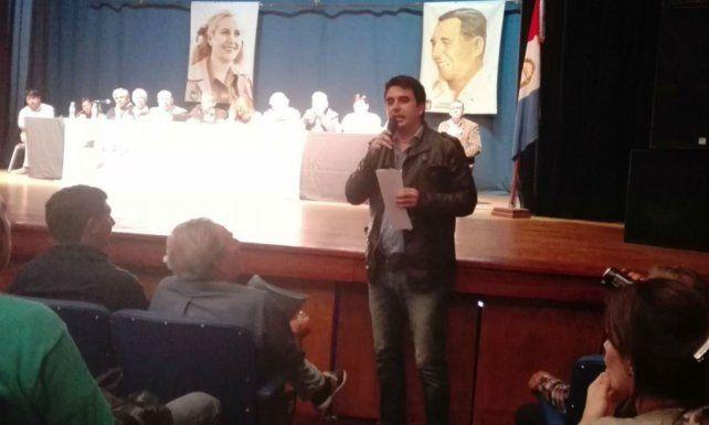 El concejal Eduardo Toniolli