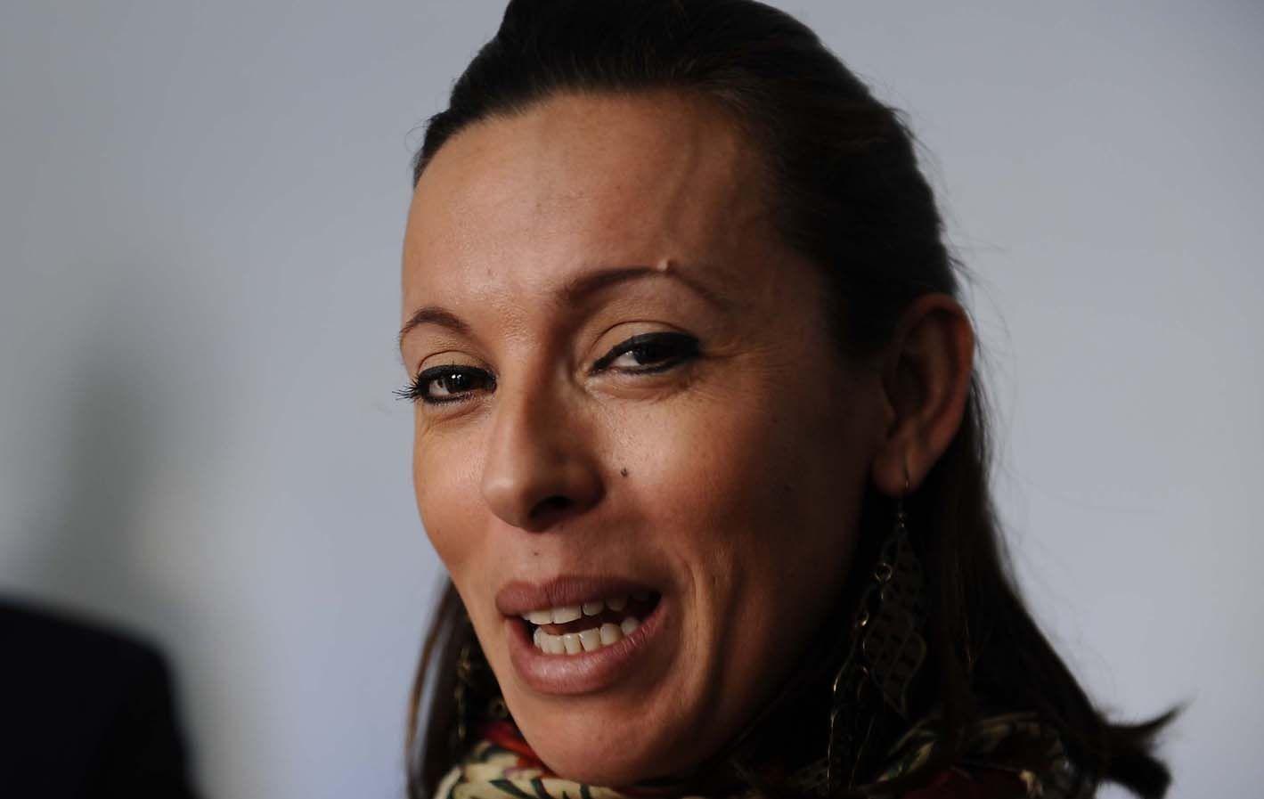Cambio de rol. María Luján desnudó sus deseos de trabajar en política.