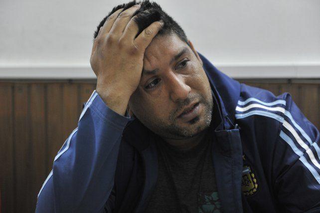 Dolorido. Luis Alberto Noya pasó preso un año por encubrir un crimen. La Justicia lo sobreseyó como a otros 4 acusados.