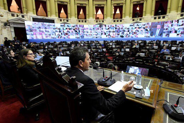 Seguí en vivo: representantes de Unicef exponen en Diputados